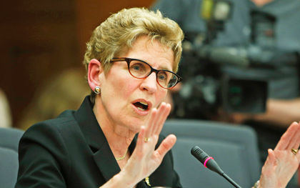Wynne's cheap energy charade